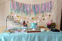 {My Parties} / Just a glimpse of party details from parties I've hosted for my kids. Favor bags and some decorations were handmade with lots of love! Hope you all enjoy.