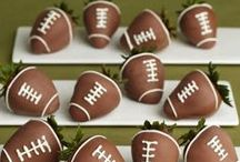 Game Day / Football Sunday & Superbowl Sunday snacks, decor, entree and dessert ideas!