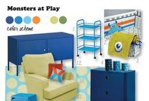 Monster's At Play / Monster's Inc baby bedding set / by NoJo