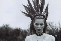 Kate Moss everywhere.