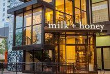 The River Oaks / milk + honey's Houston spa and salon, located at West Ave.