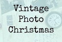 Vintage Photo- Christmas