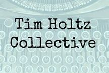 Tim Holtz Collective / A group of crafters/ bloggers sharing their passion for Tim Holtz style and products including Ranger Ink, Sizzix, Stampers Anonymous.  Your favourite artists work in one place.