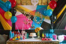 Tyler turns 30 - CMYK party / by Jesyka D'Itri Marés