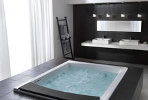 Dream Bathrooms / We spend as lot of time in bathrooms. It is important to have a good one! LOL! Here are some bathrooms I would want in my house!  / by The Blender Girl