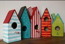 Casitas para pájaros # Birdhouses / by Los Trapisonda