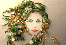 Food Art and Food Sculpture / Cool art and sculpture made out of food.