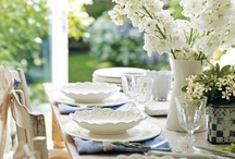 White Linens & Housewares / White Linens - White Sheet, Towels, Blankets, Throws, Dishes, Plates, Platters. I LOVE anything WHITE!  / by The Blender Girl