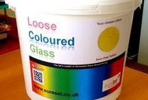 Loose Glass / 3mm Coral Red - Now available to buy as loose glass! Ideal for scattering on plant pots, flowerbeds, roof gardens, water features and anything else you can think of. Visit our online Shop for more information: www.sureset.co.uk