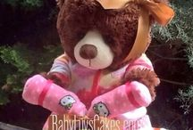 BabyLuvsCakes  Girl's Diaper Cakes / Adorable diaper cakes for infants and toddlers designed exclusively by BabyLuvsCakes
