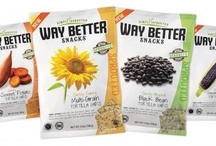 Way Better Snacks Celebration / Do you love Way Better Snacks Sprouted Tortilla Chips? WE do! This board celebrates these fabulous Gluten Free, NON GMO, Kosher, Vegan, Healthy Snacks. You can enjoy them on their own, or with dips, spreads, sprinkled on salads, or incorporate them into other sweet and savory dishes. Here are some ideas! Go Way Better!  / by The Blender Girl