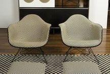 Rétro / Mid century furniture, colors and inspiration. Les années 50' et 60' sont source d'inspiration.