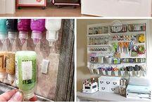 Organize My Studio / Tips on keeping my craftroom/studio clutter free