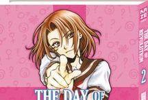 The Day of Revolution (série terminée) / Kei Yoshikawa, 15 ans, est un jeune voyou qui préfère traîner sur le toit du lycée avec sa bande plutôt qu'aller en cours. Mais un jour, après une crise d'anémie, il se retrouve à l'hôpital et découvre qu'il est en fait… une fille ?! C'est dans la peau de Megumi, une très jolie élève de seconde qu'il retourne au lycée. Mais comment faire pour préserver un tel secret avec un caractère pas très féminin et, surtout, d'anciens amis plutôt collants…