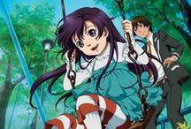 Kurenai anime / Étudiant le jour, Shinkurô  travaille la nuit comme négociateur. Son flegme et sa maîtrise des arts martiaux lui permettent de calmer les situations les plus explosives. Un jour, il se voit confier une mission très spéciale : protéger la jeune Murasaki Kuhoin, la fille d'une richissime famille mouillée dans une sombre affaire. La fillette de 7 ans est capricieuse et habituée à une vie de princesse, et la cohabitation n'est pas simple... jusqu'à ce que leurs passés respectifs les rapprochent.