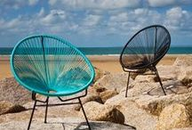 Fauteuil Acapulco et autres / Éléments de déco par définition les fauteuils donnent une touche de couleur et de style à votre déco!