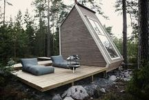 Inspiring Small Homes / Tiny houses, cabins, and other small homes that inspire what we want to do and make. / by Jean Russell