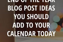 Blogging, what I need to know / Blogging the right way.