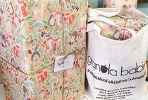 Inside Granola Babies / Glimpses of the whimsical Granola Babies Boutique.  / by Granola Babies