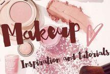 Makeup / Inspiration and tutorials for beautiful makeup looks!