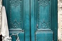 Beautiful doors / by Terri Rothrock