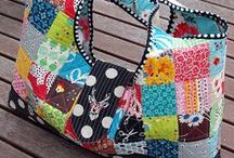 Bags, Totes, Purses & Containers / Tote bags, purses, handmade containers... / by Karen Strausheim