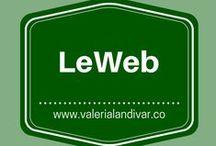LeWeb - es / by Valeria Landivar