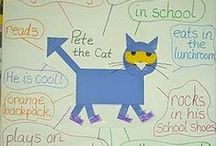 Pete the Cat / by Penne Dicken