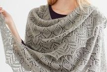 DIY Shawls / crocheted and knitted shawl patterns, tutorials and how-to