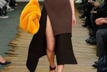 Fall 2014 - Thigh-High Slits / Fall 2014 Trends - Clothing / by Georgia Alexia Benjou