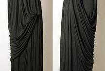 Drape / Beautifully draped clothing