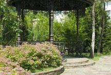Малые архитектурные формы в саду / Малые архитектурные формы играют немаловажную роль в дизайне сада