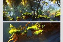 2D Art - Backgrounds