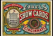 victorian inspiration / fonts, colors, styles for victorian era graphics / by Kim Koloski