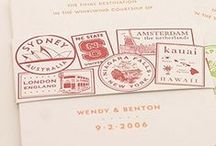 Stamp Collecting / Envelope and Stamp Design