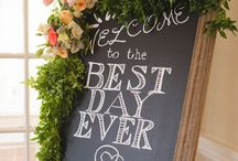 Hand Lettering | Signs | Creative Installations / Creative ideas with chalk, lettering, & signs!