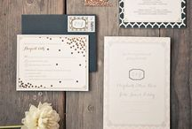 Adorable Invites / Creative ways to invite your loved ones.