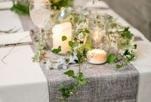 Table Toppin' / Inspiration for dressing up the table - place settings & centerpieces