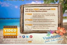 WIN a trip for 2 to Aruba - Video Contest / Win a Vacation for 2 to Aruba is a Video Contest organized by VisitAruba.com and sponsors. It runs from August 15-October 15, 2012 - for more details visit: win.visitaruba.com