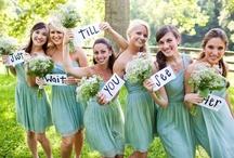 WED:  BRIDESmaids / by Cindy Carlson