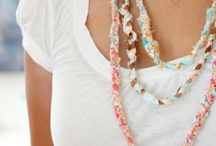 Jewlery crafts and ideas / by Kelly Draughn