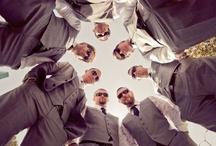 WED:  Groom & all the Groomsmen / by Cindy Carlson
