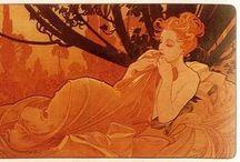 art nouveau / by Isobel Corpuz
