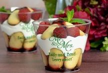 Dessert Display Ideas / Offer your guests sweet treats in the form of a stunning dessert display at your wedding reception. Explore wedding dessert display options to help plan the perfect desserts to offer your reception guests' indulgence.