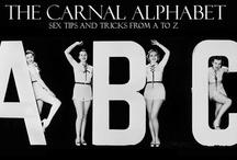 Carnal Alphabet / by EdenFantasys.com