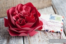 Handcrafted Flowers / by Amy Kinser