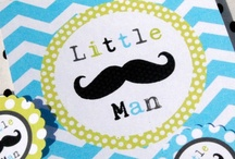 Little Man Mustache Party / Ideas for the popular Little Man Mustache Party! / by Bee and Daisy Party Studio