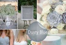 Wedding Colors / The latest color trends in the wedding industry!