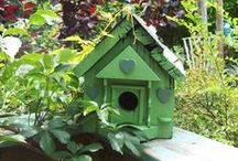 Welcome to the Bird House / A bird house not only provides a nice place for your feathered friends to nest, but it allows you to attract a wide variety of birds. These unique bird houses are an eye-catching accessory to your beautifully birdscaped backyard.