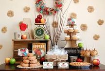 Apple Orchard Party / Inspiration for a Apple Orchard theme party featuring Bee and Daisy's Vintage Apple Orchard décor and invitation collection. / by Bee and Daisy